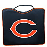 NFL Lightweight Stadium Bleacher Seat Cushion with Carrying Strap, Chicago Bears
