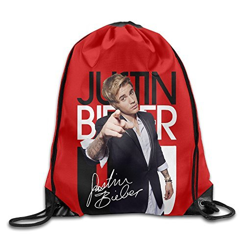YYHU Justin Pop Bieber Singer Drawstring Backpack Bag Sac...