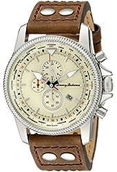 Tommy Bahama Men's 10018324 Paradise Pilot Analog Display Brown Chronograph Watch