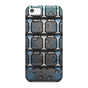 Hot Style Protective Case Cover For Iphone5c(shelves Hd)