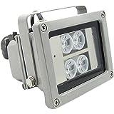 SC2000 40M Wasserdicht IR LED Scheinwerfer 60Grad für CCTV Videoüberwachung Parkplätze grau
