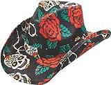 NEW PETER GRIMM BLACK TAINTED LOVE WESTERN COWBOY HAT