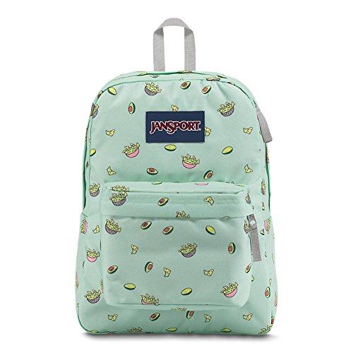 JanSport JS00T50146U Superbreak Backpack (Avocado Party)