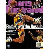$86 » Dennis Rodman Autographed Los Angeles Lakers 3/8/99 Sports Illustrated 15537 - Autographed NBA Magazines