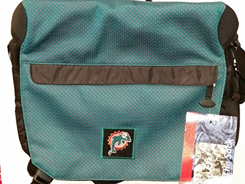 NFL Sport Messenger Bag, ''Miami Dolphins'' NEW by THE SACK