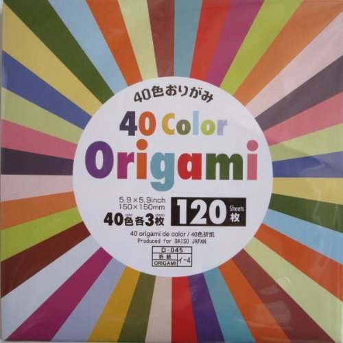 40 Color Origami - 120 Sheets ()