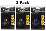 Zagg Invisibleshield Screen Protector Dry for Blackberry Z10 Full Body (3 Pack)