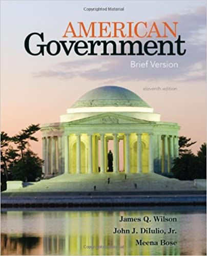 American Government Brief Version James Q Wilson Jr
