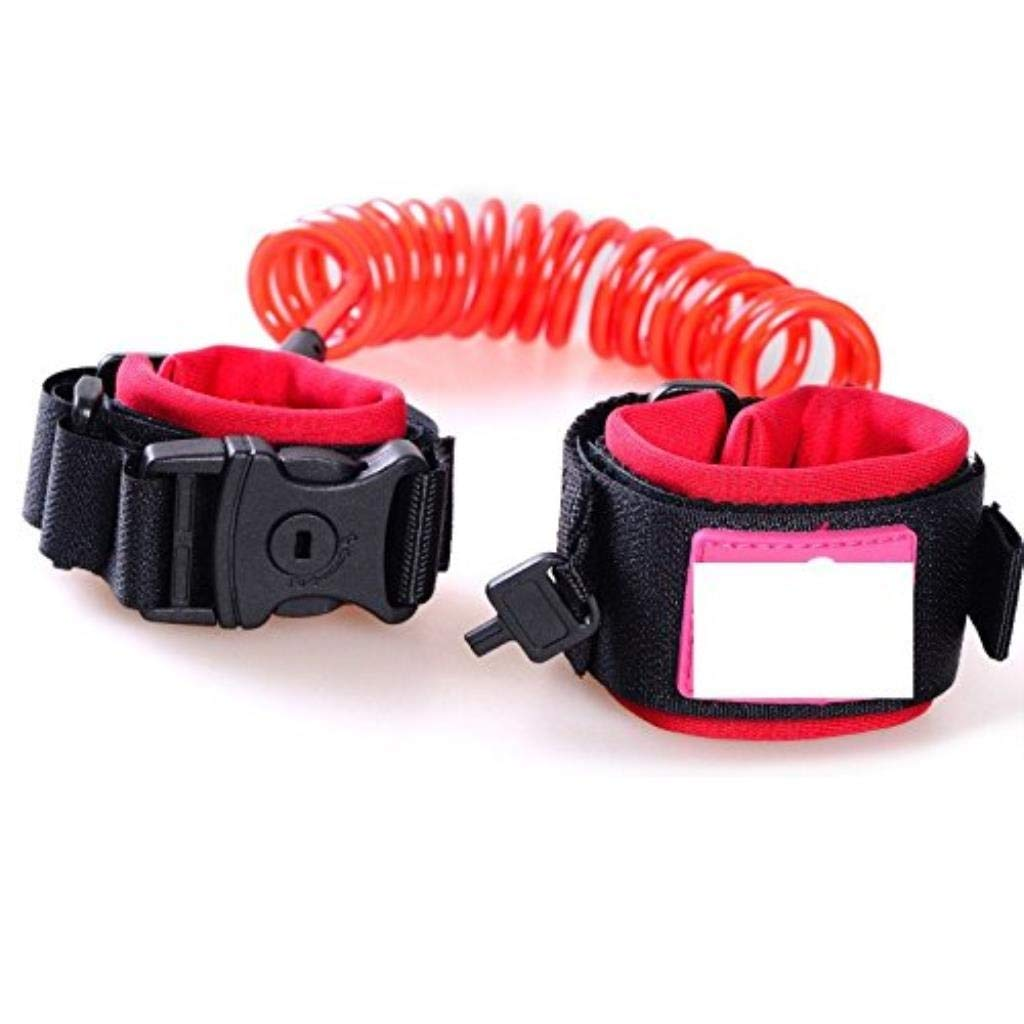 Anti Lost Wrist Belt,Baby Toddler Reins Safety Leash Wristband Child Safety Wrist Link Leash Harness Flexible Traveling Shopping Exploring Helper (Color : D)