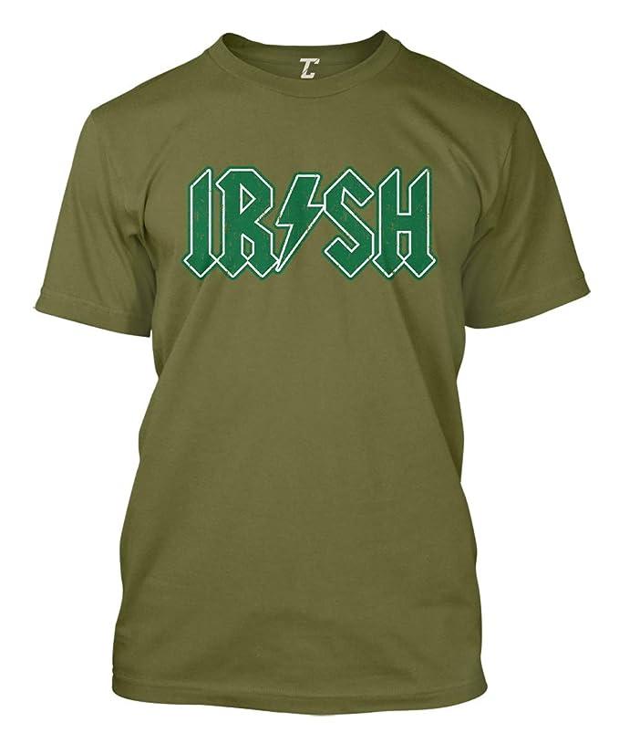642e14549d Amazon.com: Irish Lighting Bolt - St Patrick's Day Men's T-Shirt: Clothing