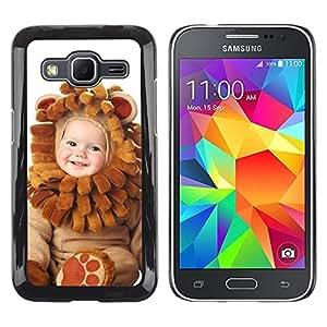 LECELL -- Funda protectora / Cubierta / Piel For Samsung Galaxy Core Prime SM-G360 -- Cute Baby Wear --