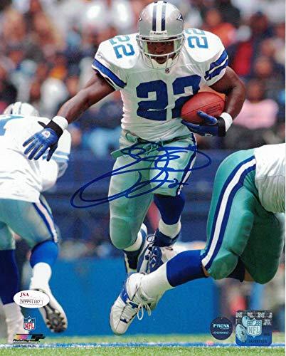 Emmitt Smith Autographed Signed Dallas Cowboys 8x10 Photo - JSA Authentic