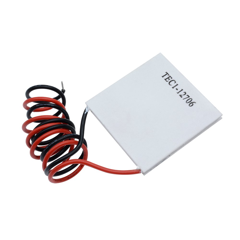 Aideepen 5pcs TEC1-12706 12V 6A Heatsink Thermoelectric Cooler Cooling Peltier Plate Module 40x40MM by Aideepen (Image #8)