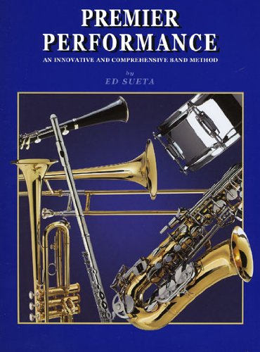 Premier Performance - Bass Clarinet - Book 1 with CD