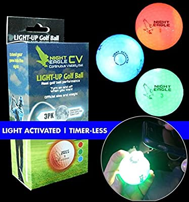 Night Eagle CV LED Golf Ball - 3 Pack