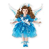 Collections Etc Women's Tanya Blue Fairy Porcelain Doll 16''