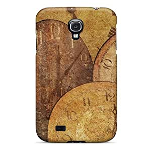 Premium [mWVvmdw8714VVBGa]clock Antique Arrow Texture Case For Galaxy S4- Eco-friendly Packaging