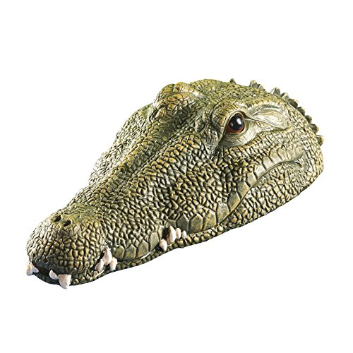 Floating Crocodile Pond Decoration Green