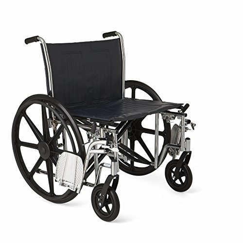 Medline-Excel-Extra-Wide-Wheelchair-24-Wide-Seat-Desk-Length-Removable-Arms-Swing-Away-Footrests-Chrome-Frame