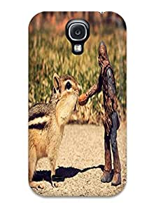 Galaxy High Quality Tpu Case/ Humor Chipmunk Star Wars Cute CSFWDJg4205jHURF Case Cover For Galaxy S4