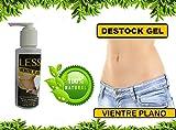 Less Vientre Plano Gel Reductor 4oz Quema Grasa, Destock GEL Anti Celulitis AHORA CON 100% EXTRACTO DE CAFÉ ARABICA