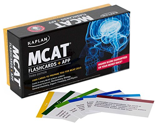 Kaplan MCAT Flashcards + App (Kaplan Test Prep)