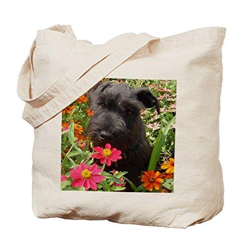 CafePress-Schnauzer Tote Bag-Borsa, colore: nero