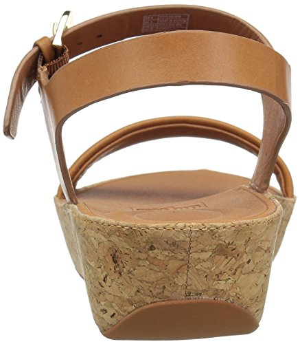 FitFlop Women's Bon II Back-Strap Sandals Medical Professional Shoe, Caramel, 9 M US by FitFlop (Image #2)