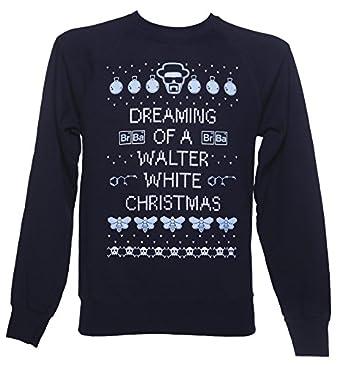 Mens Breaking Bad Christmas Jumper: Amazon.co.uk: Clothing