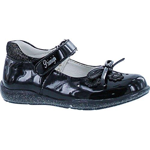 Primigi Girls Alessandra Dress Mary Jane Shoes,Patent Black,22