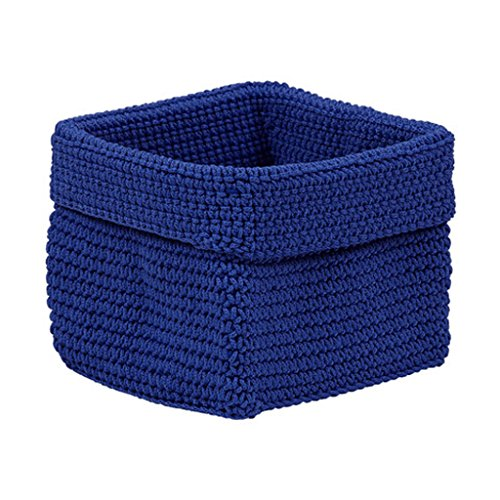 Cheap  Design Imports Hand Crochet Storage Baskets for Closets, Drawers, Kitchens, Bathrooms, Household..