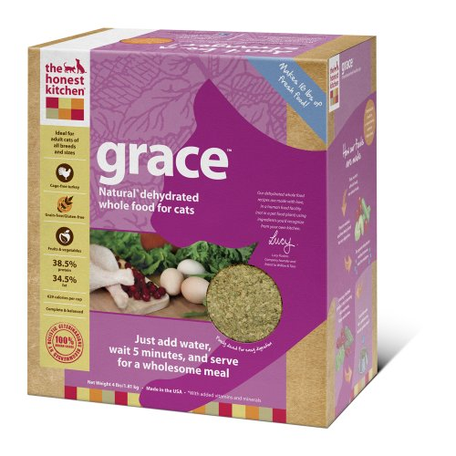 The Honest Kitchen Grace Grain-Free Dehydrated Cat Food, 4-Pound, My Pet Supplies