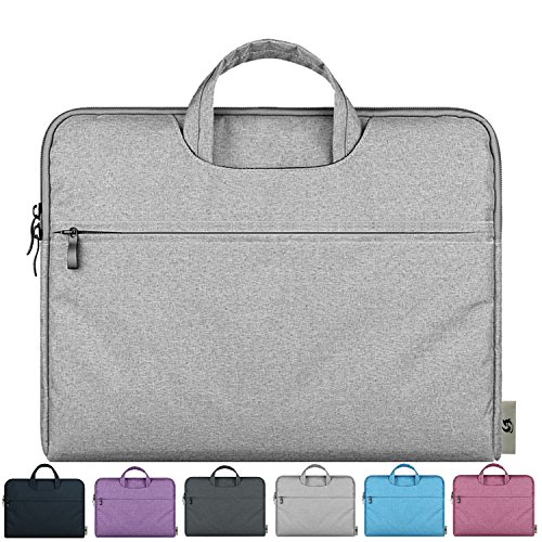 Litop 11-11.6 Inch Waterproof Fabric Notebook Sleeve Laptop Bag Case with Handle for Apple MacBook Air 11.6-inch Ultrabook Acer Asus Dell HP Sony Toshiba Lenovo Thinkpad