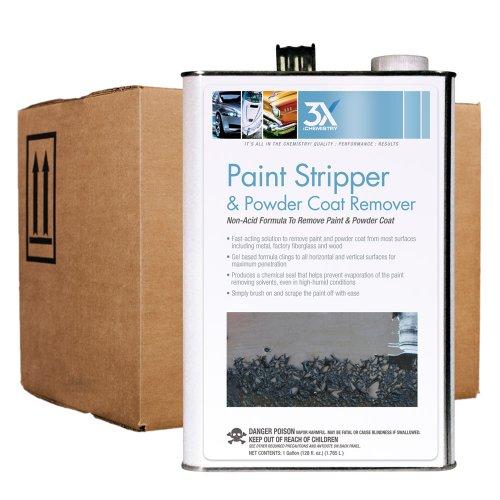 Soy Gel Stripper (3X:Chemistry 13772 Paint Stripper - 1 Gallon, (Case of 4))
