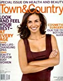 Town & Country Magazine - July 2006: Ines Sastre & More!
