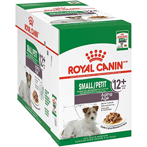 Royal Canin Small Aging Wet Dog Food, 3 oz Pouch (Pack of 12)