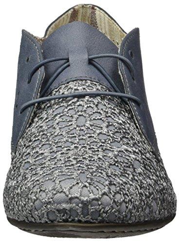 Rieker Womens Chaussures Synthétiques Bleu