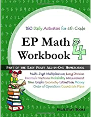 EP Math 4 Workbook: Part of the Easy Peasy All-in-One Homeschool