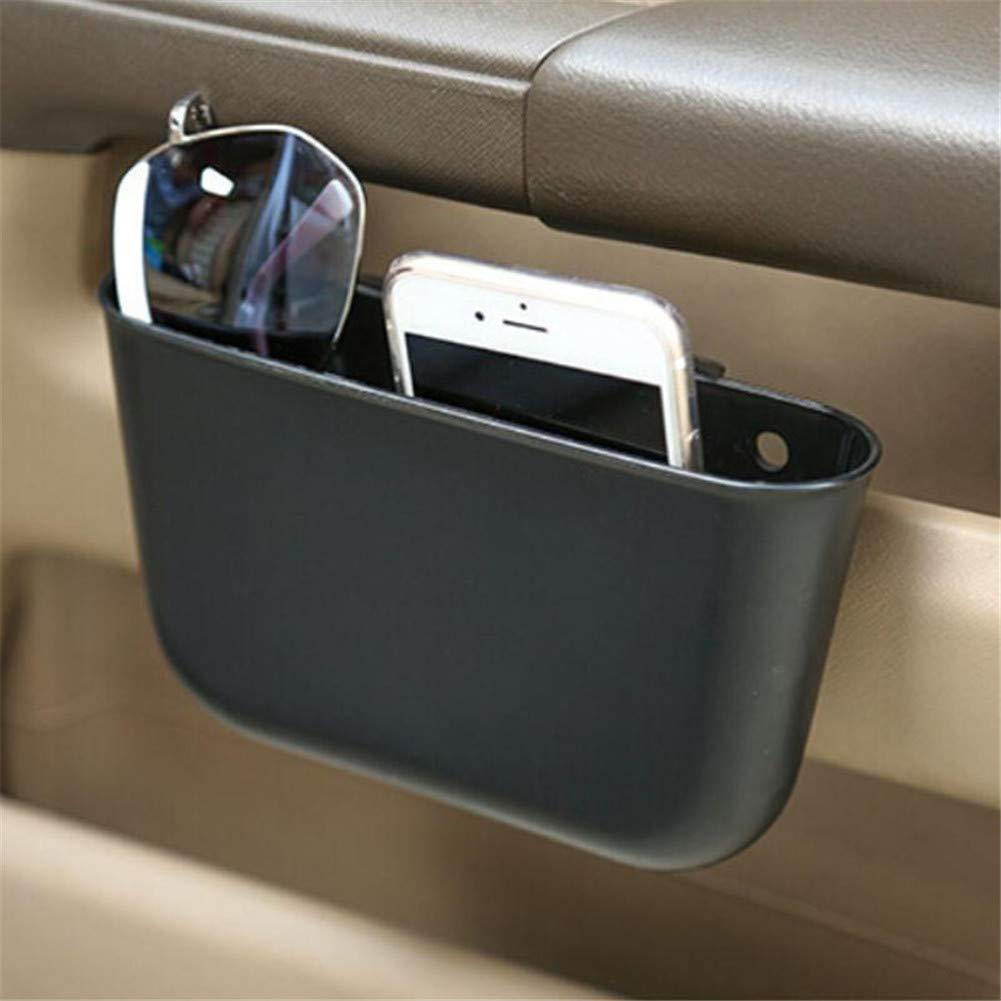 WESEEDOO Auto Seitentasche Autositz Gap Organizer Reise Fahrzeug Aufbewahrungsbox Konsole Seite Drop Caddy Catcher schwarz