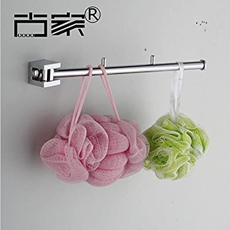 Toalla de baño o cocina Bar titular de Rack de almacenamiento de montaje en pared,organizar todo el estante con toallas y toallas,cobre 35cm: Amazon.es: ...