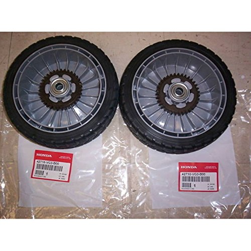 Honda Rear Drive Wheels (2) HRT216 HRR216 HRS216 HRZ216 Part # 42710-VE2-M02ZE by Honda