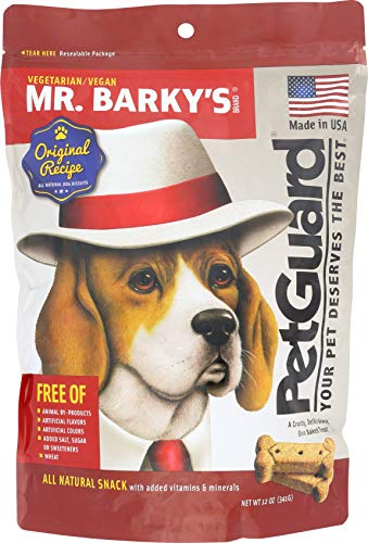 Pet Guard Vegetarian Dog Biscuit Mr. Barky, 12 Oz.