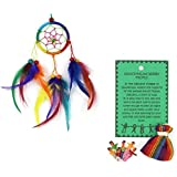 Dream Catcher – Fair Trade Worry Dolls e Rainbow Dreamcatcher – realizzata a mano e eticamente