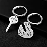 WIGERLON Couples Keychains for Boyfriend and