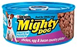 Mighty Dog Chicken, Egg and Bacon Dinner, 5.5-Ounce Cans (Pack of 24), My Pet Supplies