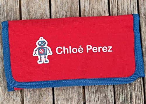 Estuche Personalizado Con El Nombre | Lápices De Colores Personalizados | Perfecto Para La Escuela: Amazon.es: Oficina y papelería