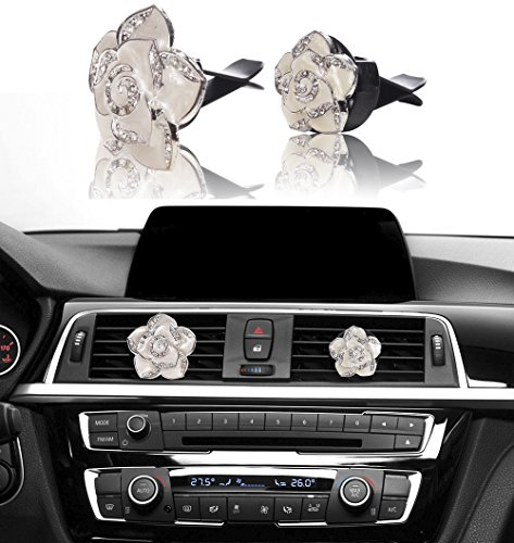 car bling decoration mini factory bling car interior accessories air vent sparkle rhinestone. Black Bedroom Furniture Sets. Home Design Ideas