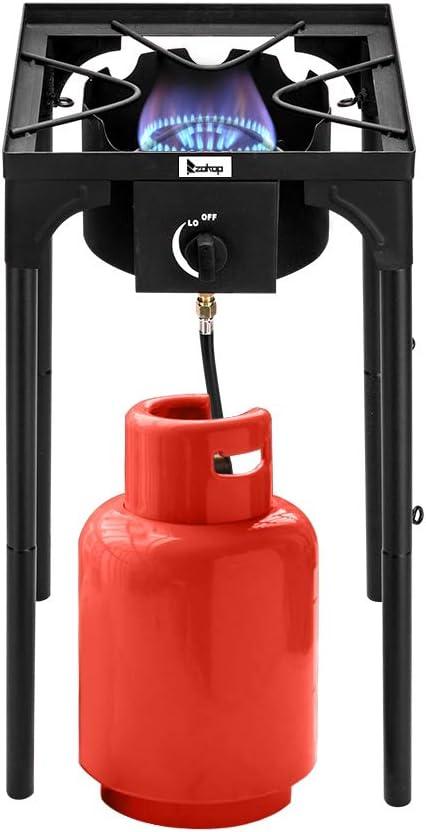 Shougui Hornillo de Gas propano de Alta presión, Quemador de ...