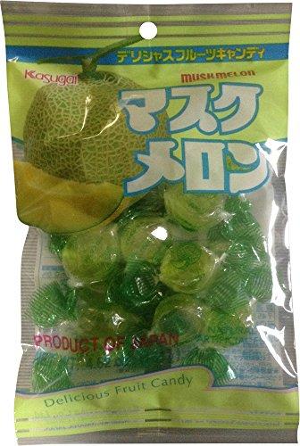 Melon Gummy (Kasugai Muskmelon Hard Candy, 3-pack)