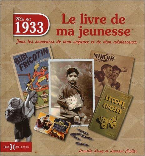 1933, le livre de ma jeunesse